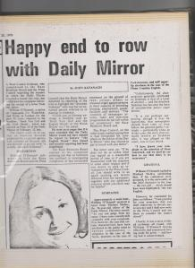 Happy to end Daily Mirror Row 001